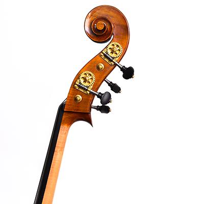 Cosimo Fischetti Double Bass, Scroll