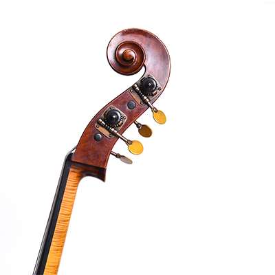 Guido Mariotto Double Bass, Scroll