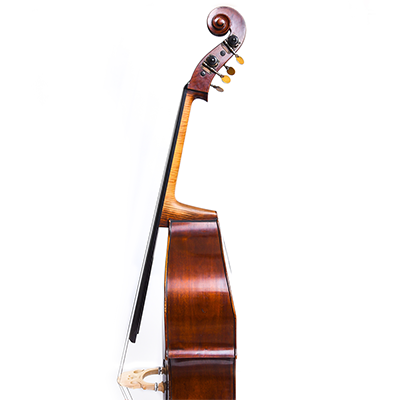 Guido Mariotto Double Bass, Side